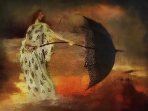 umbrellas and solar flares by Mark Gordon