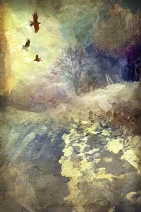 Winter Afternoon with Crows by Mark Gordon