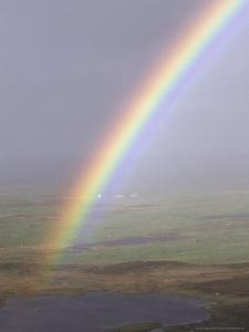 Rainbow Over Loch, Outer Hebrides, Scotland by Mark Hamblin