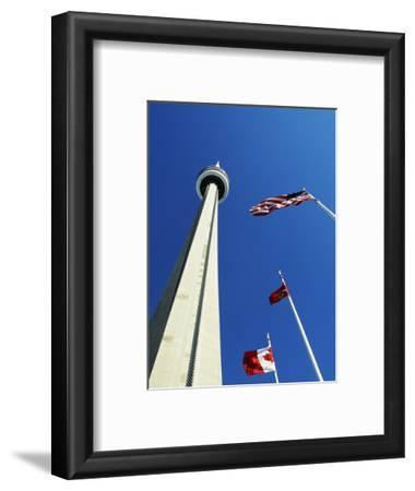 Cn Tower at 533 M or 1,815 Ft High, Canada's Wonder of the World, in Downtown Toronto