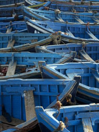 Morocco, Essaouira; the Traditional Fishing Port