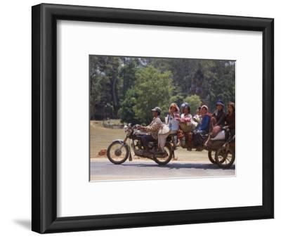 Motorcycle Bus, Cambodia