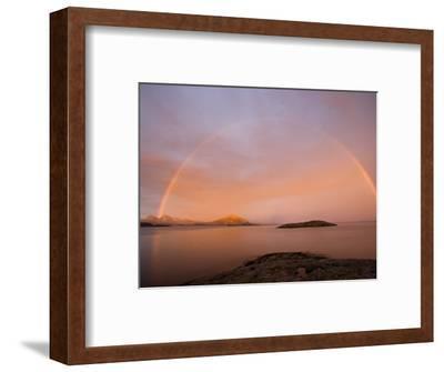 Nordland, Helgeland, A Rainbow at Midnight, Norway
