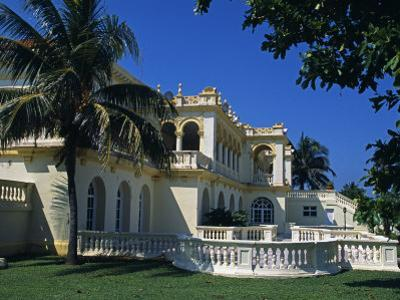 Seaward Facing Facade of Club Habana Famous as Prior Haven for the Rich and Famous, Havana, Cuba by Mark Hannaford