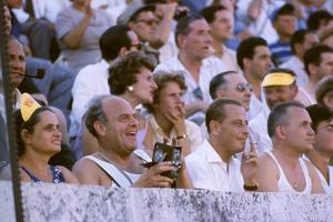 August 25, 1960: Spectators at the 1960 Rome Olympics' Opening Ceremony by Mark Kauffman