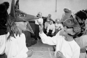 Children Chorus, Aldeburgh Festival, Suffolk, England, June 1958 by Mark Kauffman