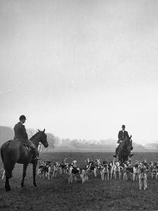 Fox Hunting, England by Mark Kauffman