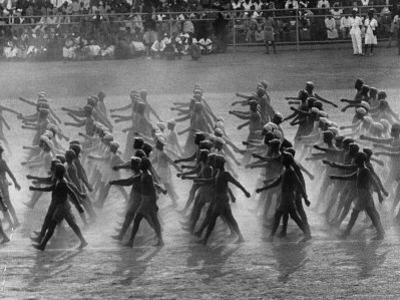 Parade Celebrating Ghana's Independence