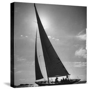 Sailing Boat by Mark Kauffman