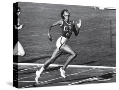 US Runner Wilma Rudolph at Olympics