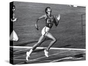 US Runner Wilma Rudolph at Olympics by Mark Kauffman