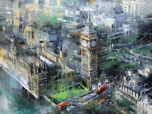 London Green - Big Ben by Mark Lague