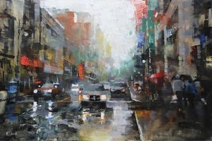 Montreal Rain by Mark Lague