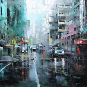 Montreal Turquoise Rain by Mark Lague