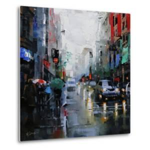 St. Catherine Street Rain by Mark Lague