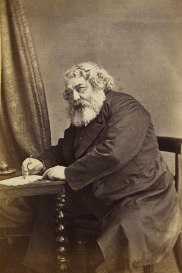 Mark Lemon, C.1868-D. Everest-Giclee Print