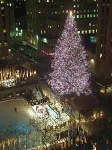 Rockefeller Tree by Mark Lennihan