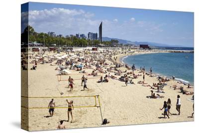 Barcelona Beach, Barcelona, Catalonia, Spain