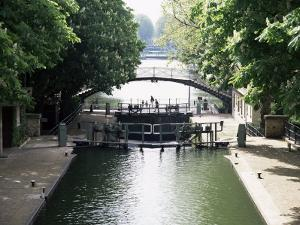Canal St. Martin, Paris, France by Mark Mawson