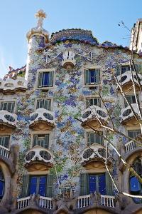 Casa Batllo, UNESCO World Heritage Site, Barcelona, Catalonia, Spain, Europe by Mark Mawson