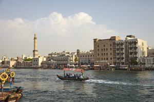 Dubai Creek, Dubai, United Arab Emirates, Middle East by Mark Mawson