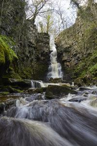 Mill Gill Force Waterfall, Askrigg, Wensleydale, North Yorkshire, Yorkshire by Mark Mawson