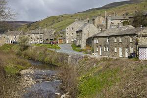 Muker, Upper Swaledale, North Yorkshire, Yorkshire, England, United Kingdom, Europe by Mark Mawson