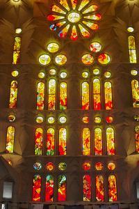 Sagrada Familia, Barcelona, Catalonia, Spain by Mark Mawson