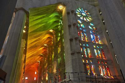 Sagrada Familia, Barcelona, Catalonia, Spain by Mark Mawson