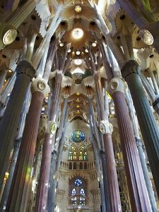 Sagrada Familia, UNESCO World Heritage Site, Barcelona, Catalonia, Spain, Europe by Mark Mawson