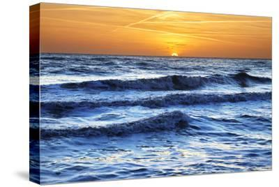 Sunset at Brighton Beach, Sussex, England, United Kingdom, Europe