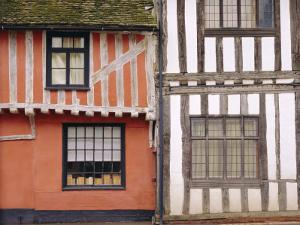Timbered Buildings, Lavenham, Suffolk, England by Mark Mawson