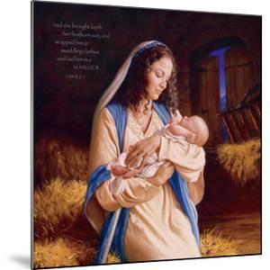 Heaven's Perfect Gift - Manger by Mark Missman