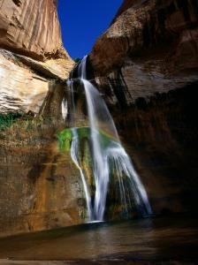 Lower Calf Creek Falls in Grand Staircase - Escalante National Monument, Utah by Mark Newman
