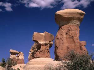 Rock Formations at Devils' Garden, Grand Staircase-Escalante National Monument, Utah, USA by Mark Newman