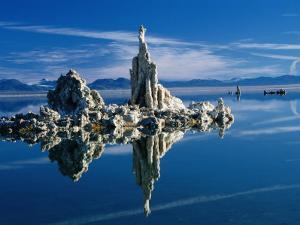 Tufa Formations in Mono Lake Tufa State Reserve, Mono Lake, California, USA by Mark Newman