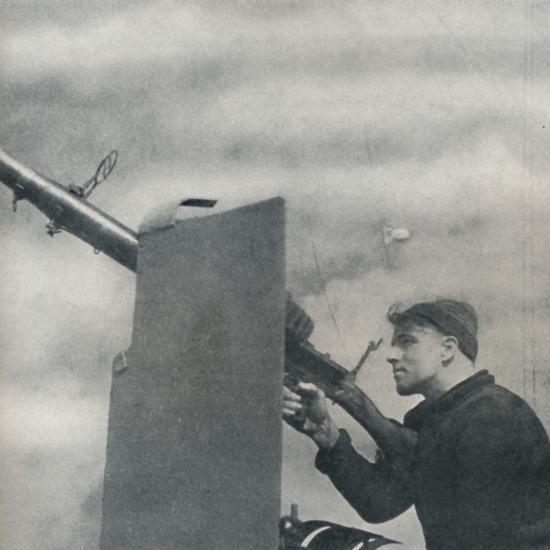 'Mark over!', 1941-Cecil Beaton-Photographic Print