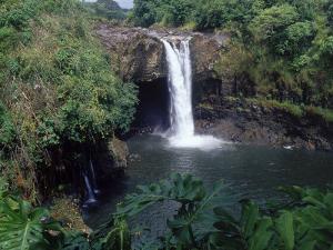 Rainbow Falls, Hilo, HI by Mark Polott
