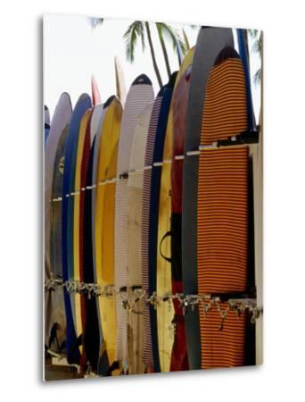 Surfboards, Waikiki Beach Oahu, Hawaii