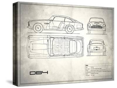 Aston DB4 White