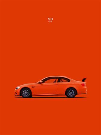 BMW M3 GTS Orange