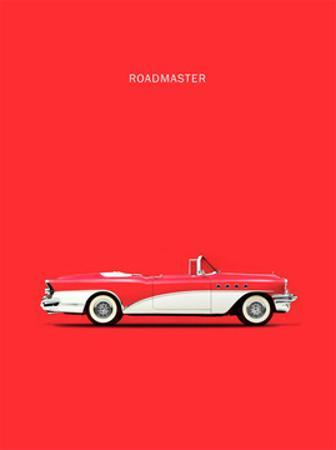 Buick Roadmaster 55 Red