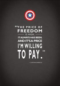 Capt America Quote by Mark Rogan