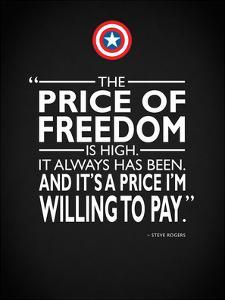 Captain America - Freedom by Mark Rogan