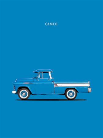Chevrolet Cameo Pickup 1957 Bl