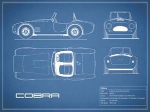 Cobra-Blue by Mark Rogan