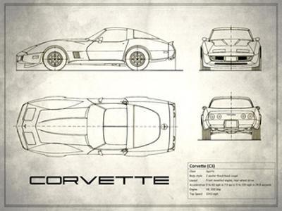 Corvette C3 White