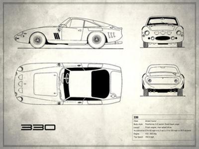 Ferrari 330 White