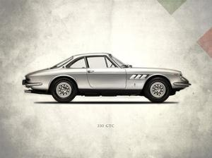 Ferrari 330GTC 1968 by Mark Rogan