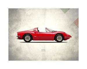 Ferrari Dino 246GTS 1973 by Mark Rogan